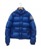 MONCLER(モンクレール)の古着「ダウンジャケット」|ブルー