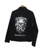 RUDE GALLERY BLACK REBEL(ルードギャラリー ブラックレーベル)の古着「ワークジャケット」 ブラック