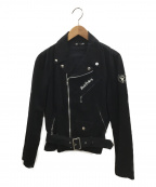 RUDE GALLERY(ルードギャラリー)の古着「ライダースジャケット」 ブラック