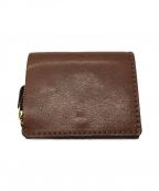 Herz(ヘルツ)の古着「小型の二つ折り財布」 ブラウン