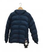 MAMMUT(マムート)の古着「ダウンジャケット」|ブルー