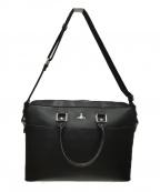 Vivienne Westwood(ヴィヴィアンウエストウッド)の古着「ビジネスバッグ」|ブラック