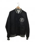 TENDERLOIN(テンダーロイン)の古着「ナイロンスタジャン」|ブラック