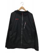 ()の古着「ウィンドジャケット」|ブラック