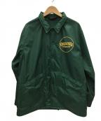 TENDERLOIN()の古着「ナイロンコーチジャケット」|グリーン