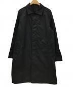 SANYO(サンヨー)の古着「ステンカラーコート」|ブラック