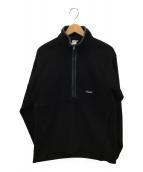 Patagonia(パタゴニア)の古着「ハーフジップフリース」|ブラック