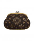 印傳屋(インデンヤ)の古着「印伝財布」|ブラウン