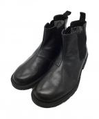 REGAL()の古着「防水サイドゴアブーツ」|ブラック