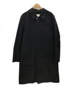 MACKINTOSH()の古着「ステンカラーコート」|ブラック
