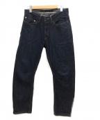 Denham()の古着「セルビッチデニムパンツ」