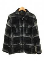 Waste(twice)(ウエストトワイス)の古着「ウールジャケット」 ブラック×グレー