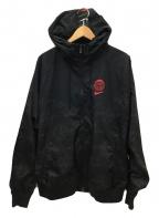 NIKE(ナイキ)の古着「ウインドブレーカージャケット」 ブラック