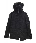 ()の古着「N-3Bタイプコート」|ブラック