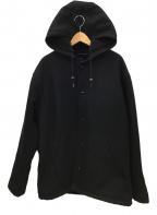 Schott(ショット)の古着「フーデッドコート」 ブラック
