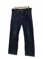 LEVI'S(リーバイス)の古着「セルビッチデニムパンツ」 ブルー