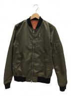 ()の古着「フライトジャケット」|オリーブ