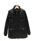 X-GIRL(エックスガール)の古着「THINSULATE PUFF COAT」|ブラック