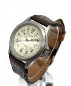 HAMILTON(ハミルトン)の古着「カーキフィールド/クォーツ腕時計」