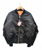 ROTHCO(ロスコ)の古着「MA-1/フライトジャケット」|ブラック