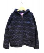 THE NORTH FACE PURPLE LABEL(ザノースフェイス パープルレーベル)の古着「マウンテンフリースパーカー」|ブルー×ブラック