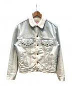 LEVI'S(リーバイス)の古着「デニムボアジャケット」 アイスブルー