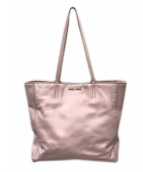 ()の古着「トートバッグ」|ピンク
