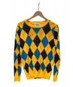 le coq sportif(ルコック・スポルティフ)の古着「セーター」 イエロー×ネイビー