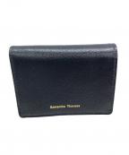 Samantha Thavasa(サマンサタバサ)の古着「2つ折り財布」|ブルー