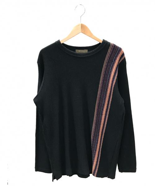 YS for men(ワイズフォーメン)YS for men (ワイズフォーメン) ニット ブラック サイズ:実寸サイズをご確認下さい。 秋冬物の古着・服飾アイテム