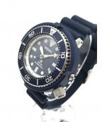 SEIKO×SHIPS(セイコー×シップス)の古着「ソーラー腕時計」|ネイビー