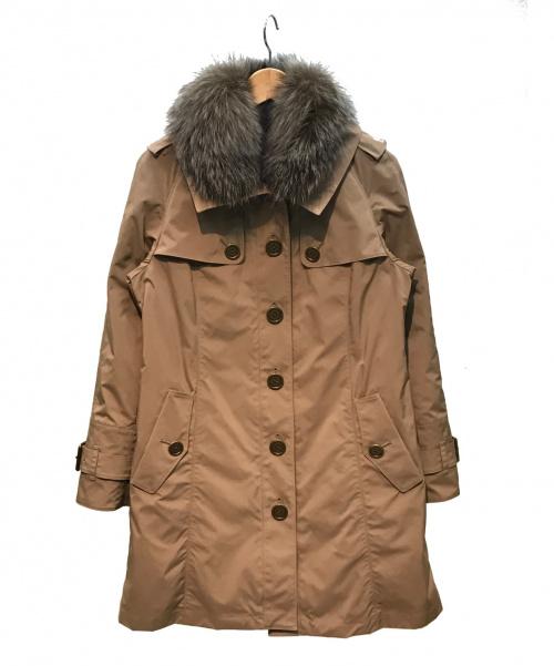 BURBERRY LONDON(バーバリーロンドン)BURBERRY LONDON (バーバリーロンドン) 3WAYコート ブラウン サイズ:38 3WAY 秋冬物の古着・服飾アイテム