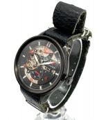 Orient Star(オリエントスター)の古着「レトロフィーチャー腕時計」