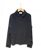 GOOD ENOUGH(グッドイナフ)の古着「スウェットファラオジャケット」 ブラック