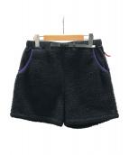 MARMOT(マーモット)の古着「フリースショートパンツ」|ブラック
