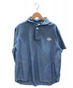 DANTON(ダントン)の古着「半袖シャツ」|ブルー
