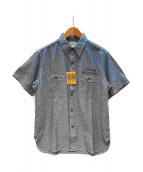 Buzz Rickson's(バズリクソンズ)の古着「シャンブレーシャツ」|ブルー