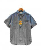 BUZZ RICKSON'S(バズリクソンズ)の古着「シャンブレーシャツ」 ブルー