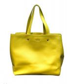 FURLA(フルラ)の古着「ハンドバッグ」|イエロー