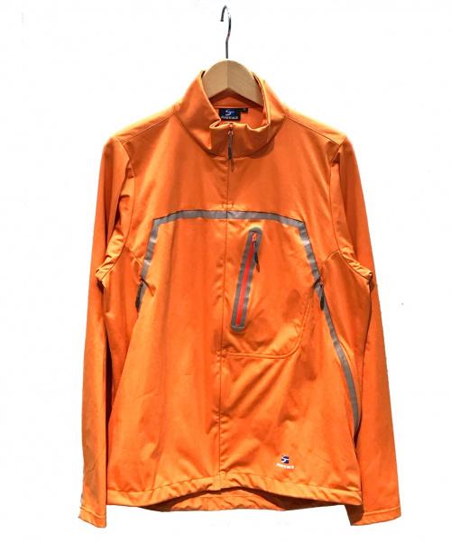 finetrack(ファイントラック)finetrack (ファイントラック) ウインドストッパージャケット オレンジ サイズ:M 秋冬春物の古着・服飾アイテム