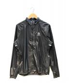odlo(オドロ)の古着「ZEROWEIGHTジャケット/ナイロンジャケット」|ブラック