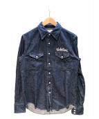 WACKO MARIA(ワコマリア)の古着「デニムシャツ」|ネイビー