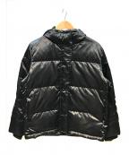 COMME CA ISM(コムサイズム)の古着「ダウンジャケット」 ブラック