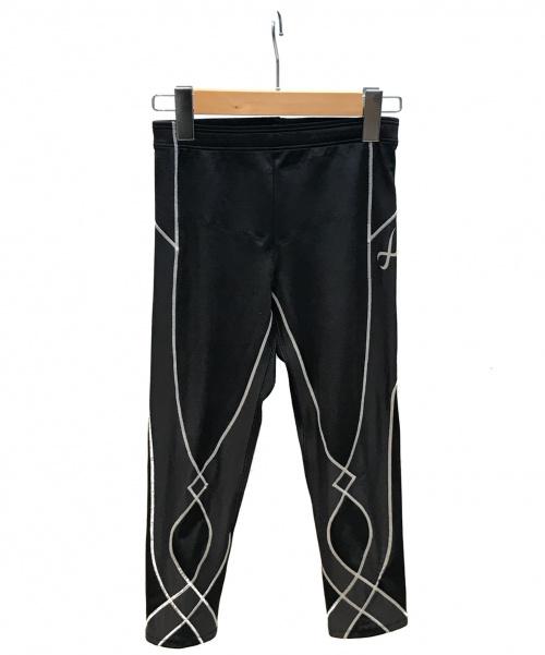 CW-X(シーダブリューエックス)CW-X (シーダブリューエックス) スタビライクス セミロング ブラック サイズ:M オールシーズンの古着・服飾アイテム