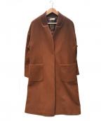 DAMA collection(ダーマコレクション)の古着「ロングコート」 ブラウン