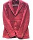 Harridge Row AT BONDS (ハリッジロウアットバンズ) テーラードジャケット ボルドー サイズ:3 秋冬物:5800円