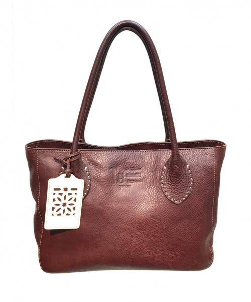 genten(ゲンテン)genten (ゲンテン) トートバッグ ブラウン サイズ:実寸サイズをご確認ください。 安藤加津コラボの古着・服飾アイテム