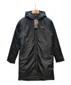 UNDER ARMOUR(アンダーアーマー)の古着「インサレートロングコート」|ブラック