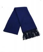TOMORROW LAND(トゥモローランド)の古着「マフラー」 ブルー