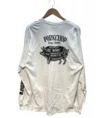 PorkChop(ポークチョップ)の古着「長袖Tシャツ」|ホワイト